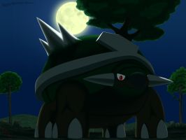 Moonlight Torterra by fab-wpg