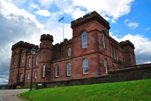 Inverness Castle by dcheeky