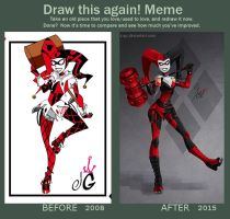 Before and after Meme by JozzGc