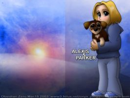 Alexis and Parker by obsidianzero
