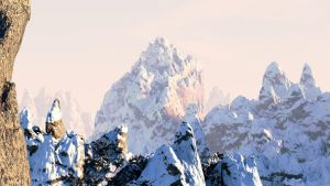 Blender Mountain Landscape by Mig26