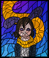 Stained Glass: Chase by ChaosTearKitsune