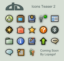 deviantart Icons teaser 2 by lopagof