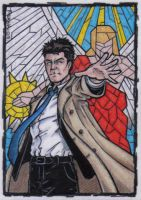 Castiel Sketch Card by tonyperna