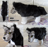 Wolfy pattern test by Voodoo-Tiki