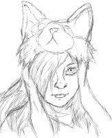 Rough Sketch of Myself by HarukoElric