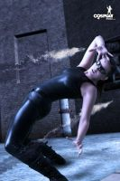 Matrix bullet time by cosplayerotica