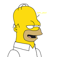 Homer Simpson thinks about Legos by SuperMarcosLucky96