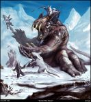 Arctic War Beast by Davesrightmind
