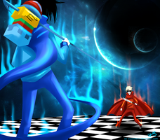 John versus Dave by Timeless-Knight
