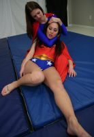 Classic Battles:  Wonder-Sumiko vs Super-Kelly #9 by sleeperkid