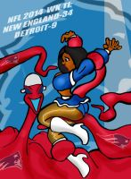 NFL 2014 WEEK 12: PATRIOTS VS. LIONS! by Rerwin