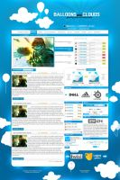 layout Balloons Clouds esport by Bob-Project