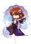 Chidori commission: Kaede by Sparkly-Monster