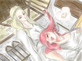 Infinitum: hair play by Rice-Lily