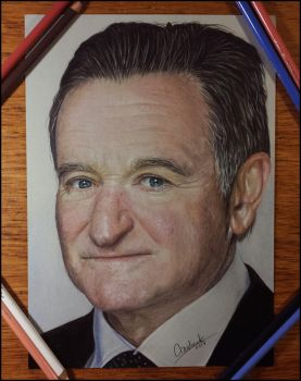 Robin Williams by acjub