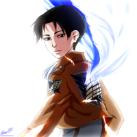 have you ever seen corporal levi s smile? by wooyoona