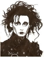 Edward Scissorhands by I-Must-be-Broken