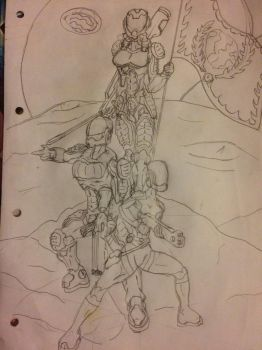 Terran Republic armed forces (Rough draft) by The-PBG