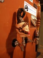 mounted tap handle 1 by CreativelyStrange