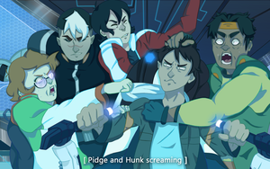 Voltron Screen Redraw by VirgoOfFrogs