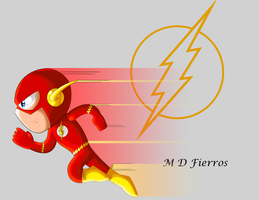 Chibi Flash by Ironmatt1995