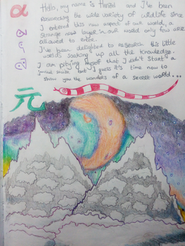 The Introduction ~ Journal Page 1 by hananas59