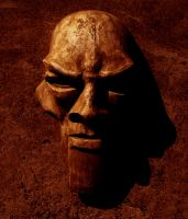 The mask of a golem 2 by skullp3ndant