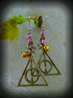 Deathly Hallows by ArtByStarlaMoore