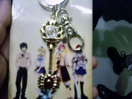Key Chain - Cancer - Fairy Tail by RavenTao