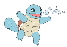 Squirtle used Bubble by Kainaa