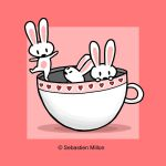 Teacup Bunny Dance by sebreg