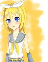 Kagamine Rin by TiRaPuW