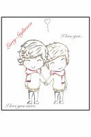 Larry Stylinson by ZANEkun