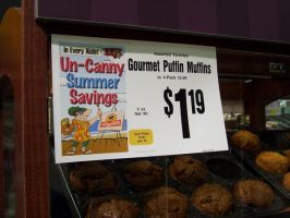 Real-Life 'Puffin Muffins' at the Supermarket? by SJF-Penguin
