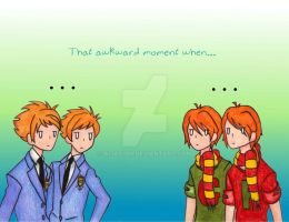 Twins: That Awkward Moment When... by AliAvian