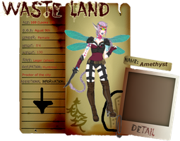 Application Waste Land - Amethyst by TANKBELLY