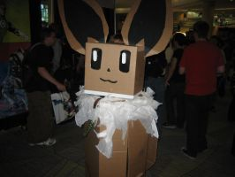 Box Eevee by ObliviousGod