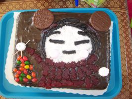Pucca in Cake Form... by ArchaicMosaic