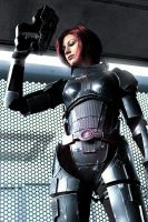 Commander Shepard: Can't save them all by LittleBlondeGoth