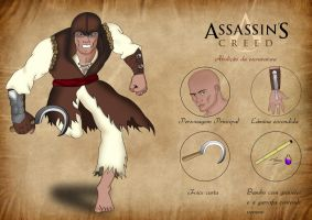 Assassins creed - Concurso Concept Art Brasil by thgo