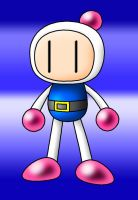 Bomberman Quick Draw in Photoshop by kuro19890616
