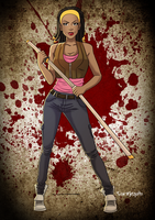 The Walking Donni by Odie1049