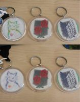 All keychains by dottypurrs