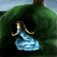 Alice is going to Wonderland by yuminica