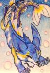ACEO: Bubbles by DanielleMWilliams
