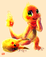 Misha the Charmander by Haychel