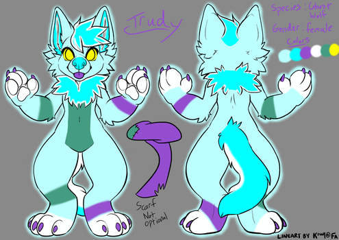 Trudy Reference Sheet by HickatheDragon