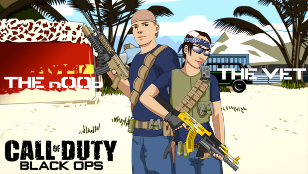 Black Ops - The Vet and the n00b by x-SkaiGuardian-x