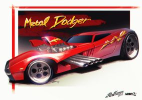 Metal Dodger by Adry53